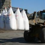 Fertiliser bags Martin Butterly