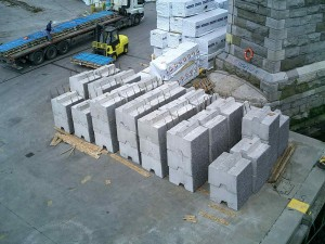 project cargo concrete martin butterly shipping agent