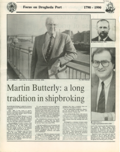 martin butterly history shipping agency
