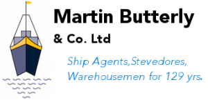 martin butterly ship agent stevedores warehousemen